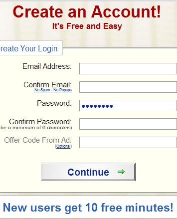 Enter your details to create an account